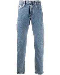 Calvin Klein Jeans Cargo Pocket Straight Leg Jeans