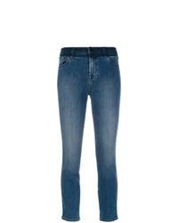 J Brand Cropped Slim Fit Jeans