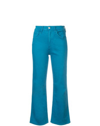 3x1 Cropped Straight Leg Jeans