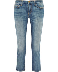 Current/Elliott The String Bean Low Rise Straight Leg Jeans