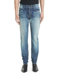 Saint Laurent Cutoff Skinny Jeans