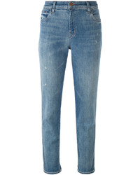 J Brand Distresed Cropped Jeans