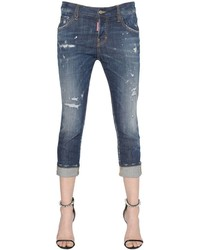 Dsquared2 Cool Girl Cropped Washed Jeans