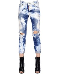 Dsquared2 Glam Head Cotton Denim Jeans