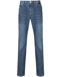 Brioni Embroidered Pocket Jeans