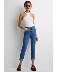 Forever 21 High Rise Mom Jeans
