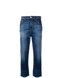 Haikure Frayed Cropped Jeans