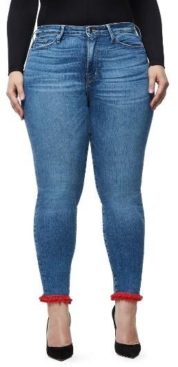 Good American Good Legs High Waist Pom Jeans