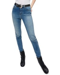 Gummy high waist jeans medium 3992581