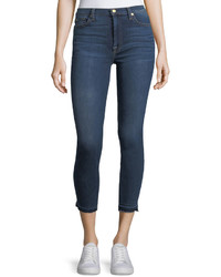 7 For All Mankind Gwenevere Released Edge Ankle Jeans