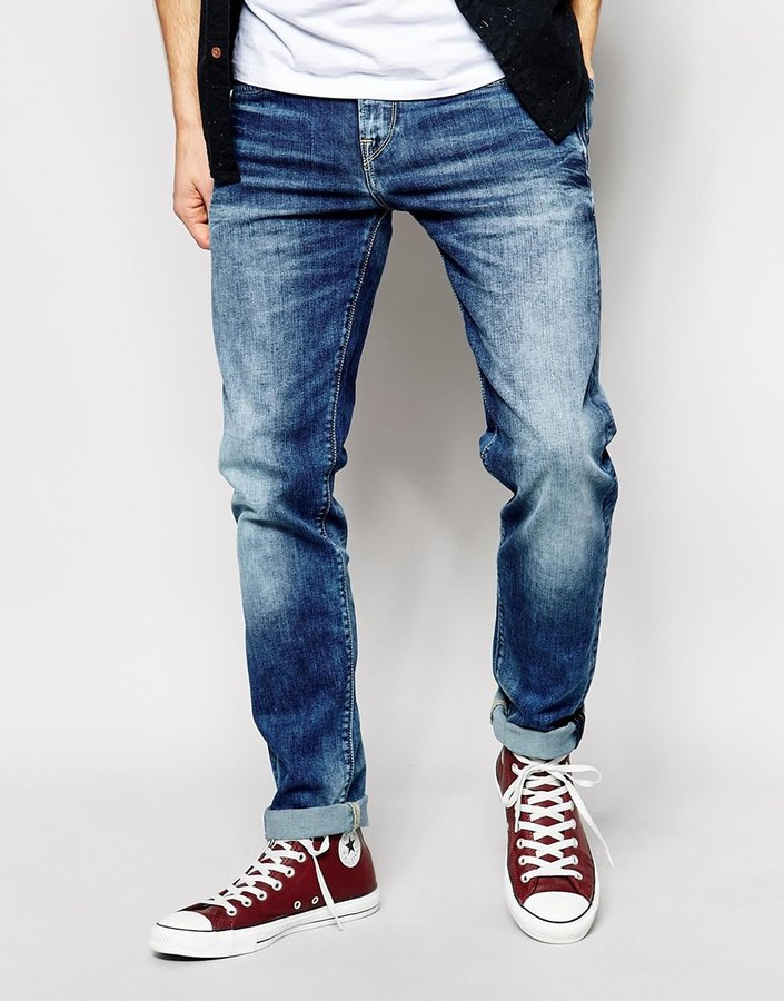 17b83604ba1 ... Pepe Jeans Hatch Skinny Fit Rope Dye Medium Stretch ...