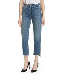 Grlfrnd Helena Rigid High Waist Straight Jeans