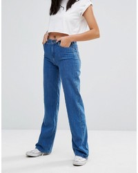 Lee High Waisted Wide Leg Retro Jean
