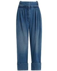 J.W.Anderson Pleat Front Wide Leg Jeans