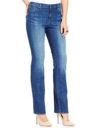 DKNY Jeans Soho Straight Leg Jeans Arabian Night Wash