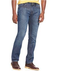 DKNY Jeans Soho Straight Leg Skinny Fit Medium Indigo Jeans