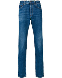 Givenchy Jeans With Red Rear Logo