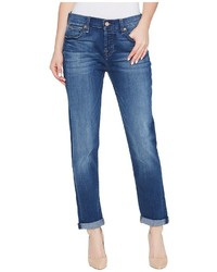 7 For All Mankind Josefina Jeans In Rich Coastal Blue Jeans