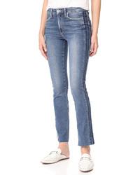 Paige Julia Straight Raw Tux Jeans