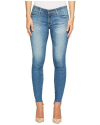 AG Adriano Goldschmied Leggings Ankle Uneven Hem In Emanate Jeans
