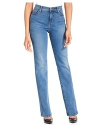 Levi's 512 Perfectly Slimming Straight Leg Jeans Western Light Wash