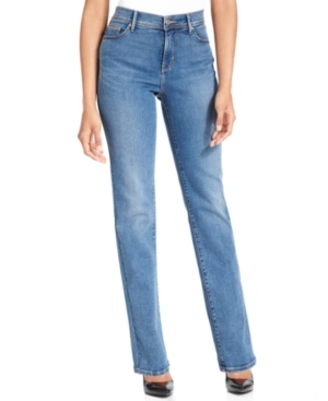 pretty nice big sale super service 512 Perfectly Slimming Straight Leg Jeans Western Light Wash