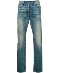 Tom Ford Light Wash Fitted Jeans