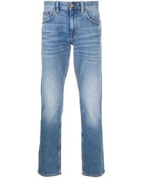 Tommy Hilfiger Light Wash Straight Leg Jeans