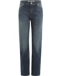McQ by Alexander McQueen Mcq Alexander Mcqueen Cropped Straight Leg Jeans