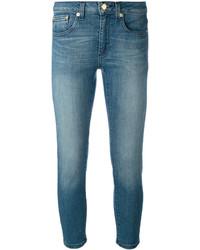 MICHAEL Michael Kors Michl Michl Kors Stonewashed Cropped Jeans