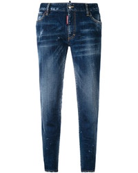 Dsquared2 Mid Rise Twiggy Jeans