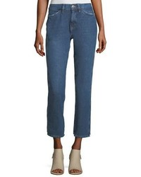 MiH Jeans Mih Cult Mid Rise Straight Leg Ankle Jeans