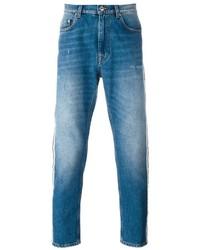 MSGM Stonewashed Slim Fit Jeans