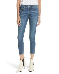 RE/DONE Originals High Waist Stretch Crop Jeans