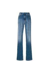 Maison Margiela Paneled Straight Leg Jeans