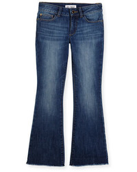DL1961 Premium Denim Isabel Faded Flare Jeans Cozy Size 7 16