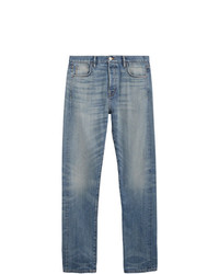 Burberry Relaxed Fit Washed Japanese Selvedge Denim Jeans