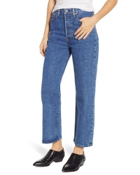 Levi's Ribcage Super High Waist Straight Leg Jeans