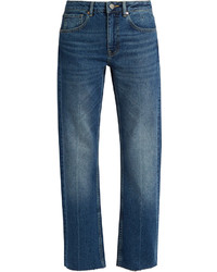 Raey Ry Press Straight Leg Jeans