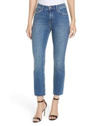 L'Agence Sada Crop Slim Jeans