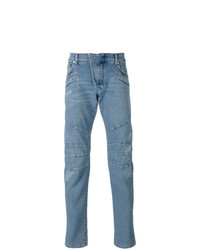 Pierre Balmain Seaming Details Slim Fit Jeans