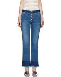 See by Chloe See By Chlo Indigo Dip Dyed Jeans