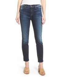 7 For All Mankind Seven7 Roxanne High Waist Ankle Jeans