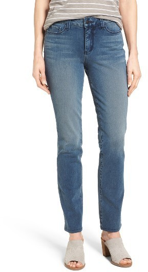 NYDJ Sheri Stretch Slim Leg Jeans