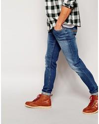 de7e733fd956 ... Nudie Jeans Skinny Lin Stretch Fit Easy Strikey ...