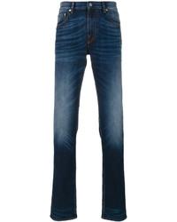 Stone Island Slim Fit Bleach Detail Jeans