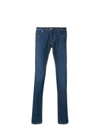 Brioni Slim Fit Low Rise Jeans