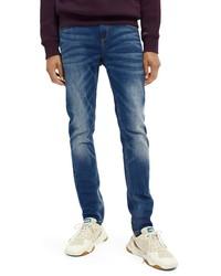 Scotch & Soda Slim Fit Straight Leg Jeans