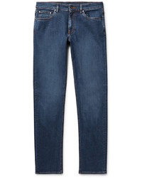 Ermenegildo Zegna Slim Fit Stretch Denim Jeans