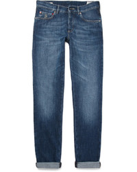 Brunello Cucinelli Slim Fit Washed Denim Jeans